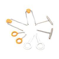 Wholesale 12Pcs Car Molding Radio Door Clip Panel Trim Dash Audio Removal Tool Kit Plastic Pry Tools Set