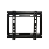 lcd tv hdtv - TV Wall Mount HDTV Flat Panel Fixed Mount Flat Screen Bracket with Loading Capacity for quot quot Screen LCD LED Plasma TV DHL V1403