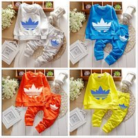 boys and girls clothing - brand new baby boy and girl clothing sets long sleeve clothes pants boys suit children clothes sets