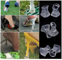high heel stoppers - 25Pairs High Heel Protector Latin Stiletto Dancing Shoes Covers Stoppers Antislip Heel Protectors for Bridal Wedding