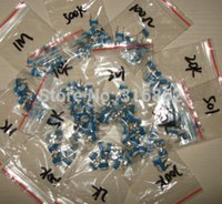 Wholesale Trimming Potentiometer RM top adjustment ohm Mohm RM065 WH06 Variable Resistors Assorted Kit Type