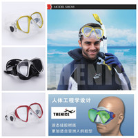 Wholesale Professional Scuba diving Fog proof mask Underwater Snorkeling Spearfishing Equipment Myopic optical lens Swimming goggles