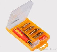 Wholesale Screwdriver Kit in Tactical Tools Precision Hand Tools Box Removal Tool Kit Repair computer PC Pad Cell Phone Reparing Tools Set