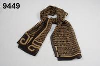 Wholesale Winter Pure Silk Women Long Scarf Wraps Printed Fashion Pattern Mulberry Silk Scarf Shawl