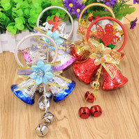 big bell sound - Hot Selling Four Colors Bell Christmas Tree Decorations Promotion Sale Cheap Party Supply Big cm Bell On Door With Sound MC02