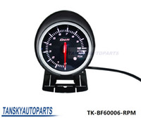 Wholesale Defi mm LED Tachometer GAUGE High Quality Auto Car Motor Gauge with Red White Light TK BF60006 RPM