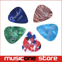 Wholesale mix color celluloid guitar pick with logo printing mm MU0413