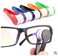 Wholesale 100pcs Essential Microfibre Glasses Cleaner Microfibre Spectacles Sunglasses Eyeglass Cleaner Clean Wipe