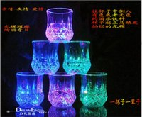 beer can decorations - Color Water Cup Pineapple Cup Can Change Color Creative Party Wine Glasses Bars Party