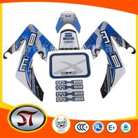 Wholesale motorcycle Decals and stickers fit Dirtbike Blue motorcyle accessory T115 order lt no track