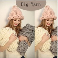 Wholesale Korea Katie Fashion Thick Big Yarn For Hat Scarf Thick Knitting DIY Super Big Knit Wool Yarn Gram