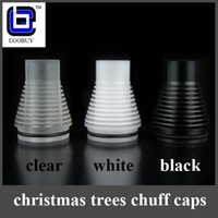 christmas trees wholesale - New christmas trees in Chuff pom enuff top caps drip tips gifts for Patriot Infinite CLT Stillare doge Atty v2 v3 mephisto