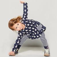 Precio de Pequeñas faldas de los niños-La caída de la pequeña falda del arco del algodón Tong Tong vestido de princesa estilo europeo nuevos niños de los niños
