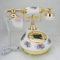 Wholesale Rustic antique telephone fashion telephone home classic vintage ceramic
