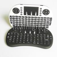 android bluetooth keypad - Rii i8 Remote Mouse Keyboard Combo Wireless GHz Touchpad Keypad For U1 KODI S905 MXQ PRO M8S WIFI Bluetooth Android OTT TV BOX
