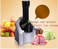 Wholesale 2016 Fruit ice cream machine household automatic ice cream machine ice cream machine ice machine DIY fashion