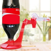 Wholesale Attractive Novelty Saver Soda Dispenser Bottle Coke Upside Down Drinking Water Dispense Machine Gadget Party Home Bar