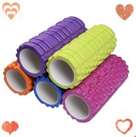 Wholesale 2015 High Quality Yoga Foam Roller Massage Trigger EVA Foam Yoga Point Relief Muscular Fitness Toga Rollers P0008