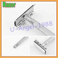 Wholesale Mens JunJie old style double Edge blade razor shaver sharp veneer Hair Razor