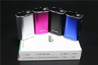 Wholesale 100 ismoka eleaf mini istick kit LED Screen MOD e cigarette Eleaf iStick mini kit mah battery W mod istick mini mod colors in stock
