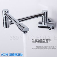bathtub cheap - Cheap Kitchen Furniture Sink Faucet Degree Swivel Folding Wall Mounted Bathroom Basin Bathtub Bidet Toilet Tap
