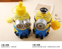 Wholesale EMS Children s cartoon mug kettle Despicable Me Stainless steel mug Despicable Me doll cute creative cartoon kettle cups toy doll