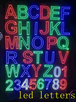 advertising product - NEW product led module DC12V led sign Letters ABCDEFGHIJKLMNOPQRSTUVWXYZ led numbers Channel letters advertising board