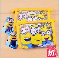 Wholesale 2015 Christmas gift D cartoon children minion briefs boys minions Despicable Me underwear boy Spider Man cars underpants hot