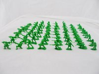 Wholesale 1000pcs cm Green Plastic Toy Soldiers Bulk Army Men Action Figures Toy Soldier Kinds of Posese quot Sent At Random quot