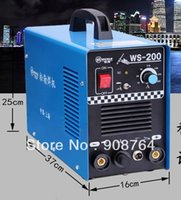 argon welding machine - 2016 The New Hot Selling WE018 A V DC inverter welding machine stainless steel WS A welding argon arc welding machine