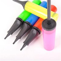 air free ballon - PC Balloon Pumps PVC Plastic Hand Ballon Pumps CM Length Air Helium Baloon Pumps