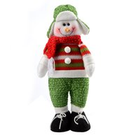 animated christmas decor - Merry Animated Christmas Decoration Supplies Products Craft Gift New Year Decorations Ornaments Cheap For Home Decor Snowman