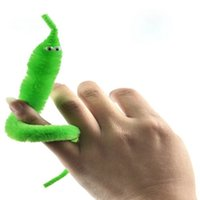 trick worms - 2015 Magicians Toy Baralho Mr fuzzy Magica Worm Magic Trick Twisty Plush Wiggle Stuffed Animals Street Toy For kids gift cm