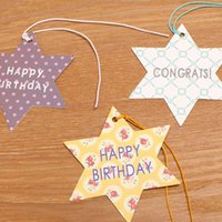 assorted gift tags - 60pcs Assorted Happy Birthday Gift Tag Greeting Card TL