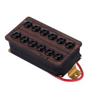 Wholesale Good Quality Guitar Neck Humbucker Double Coil Pickup Set Rosewood Cover Top with Durable Screws and Springs I1288
