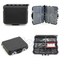 Wholesale New toll for Fishing Lure Bait Tackle Waterproof Storage Box Bag Case With Compartments