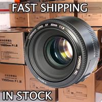 Cheap FS! YONGNUO YN50mm F1.8 Lens Large Aperture Auto Focus Lens for Canon EOS 60D 70D 5D2 5D3 7D2 750D DSLR Cameras