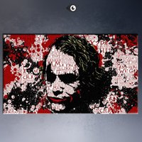 Wholesale Hot selling Handcraft Modern oil painting on canvas No frame the joker x48inch