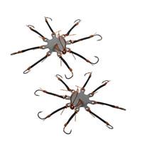 Рыболовный крючок высокого веревки, привязанной к крюку Тарелка Hook Бутик Крючки Explosion Hook Simulation Octopus anzol де Песка кондуктор IMA