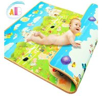 Wholesale Authentic cm thick mat crawling baby infant children crawling blanket game pad foam mat baby climb pad