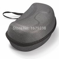 best ski bags - Best Price Mesh Hard Protector Bag Case for Winter Sports Ski Motorcycle Snowmobile Goggles Black With Silver Colour