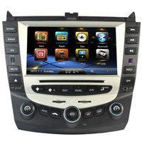 Accord dual cd player - car dvd gps stereo radio navigation for honda accord Bluetooth Stereo Radio dual Single Zone Climate Control