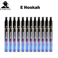 Cheap Electronic Hookah Disposable E Cigarette E Hookahs Vaporizer Pen 1800 Ouffs Hot Sale Shisha VS starbuzz e hose E Head