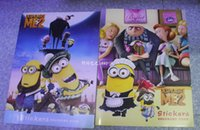 coloring book - 2015 New Despicable Me Children s Coloring Book Stickers Fancy Painting Cartoon Characters Kids Coloring Books