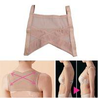 anti corset - Waist training corsets Anti hunchback Adjustable Underwear Breathable Correction Strap Shapewear F OS