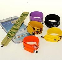 Wholesale fashion Capacitance sereen pen Cartoon child hand ring originality bracelet smartphones touch screen pen