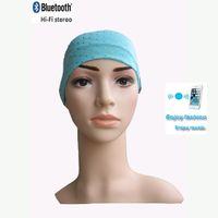Wholesale Sport Yoga Bluetooth Headband Bandana hijab Turban Women Stretch Headwrap Turbante Hair Accessories