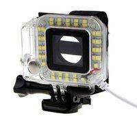 Wholesale 2015 hot sale USB Lens Ring LED Flash Light Shooting Night For Sport Camera GoPro Hero