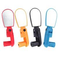 Wholesale 4 Colors Adjustable MTB Bike Bicycle Cycling Rear View Mirror Mini Handlebar Glass Bike Accessories