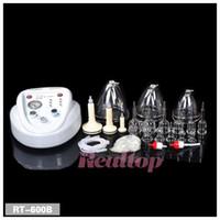 Wholesale Hot breast sucking and Massage Breast Enlargement Breast Massager Machine Breast Pump Bust Enhancer Equipment
